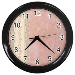 Guestbook Background Victorian Wall Clocks (Black)