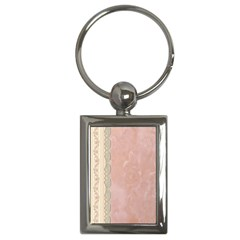 Guestbook Background Victorian Key Chains (Rectangle)