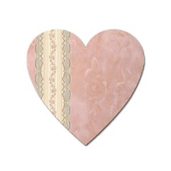 Guestbook Background Victorian Heart Magnet