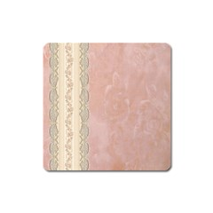 Guestbook Background Victorian Square Magnet
