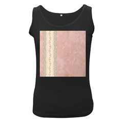 Guestbook Background Victorian Women s Black Tank Top