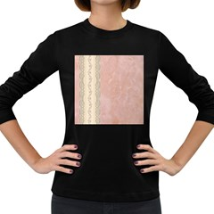 Guestbook Background Victorian Women s Long Sleeve Dark T-Shirts