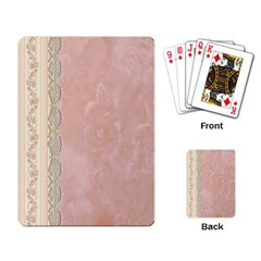 Guestbook Background Victorian Playing Card