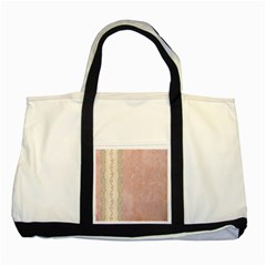 Guestbook Background Victorian Two Tone Tote Bag