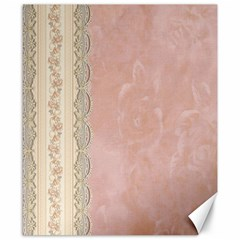 Guestbook Background Victorian Canvas 8  x 10