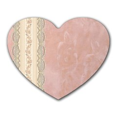 Guestbook Background Victorian Heart Mousepads