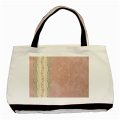 Guestbook Background Victorian Basic Tote Bag (Two Sides)