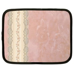 Guestbook Background Victorian Netbook Case (Large)