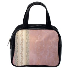 Guestbook Background Victorian Classic Handbags (One Side)