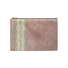 Guestbook Background Victorian Cosmetic Bag (Medium)
