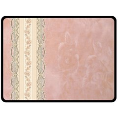 Guestbook Background Victorian Fleece Blanket (Large)