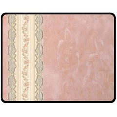Guestbook Background Victorian Fleece Blanket (Medium)