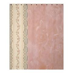 Guestbook Background Victorian Shower Curtain 60  x 72  (Medium)