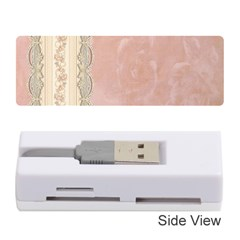 Guestbook Background Victorian Memory Card Reader (Stick)