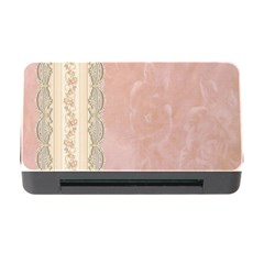 Guestbook Background Victorian Memory Card Reader with CF