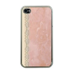 Guestbook Background Victorian Apple iPhone 4 Case (Clear)