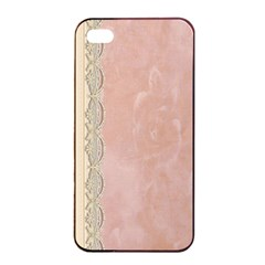 Guestbook Background Victorian Apple iPhone 4/4s Seamless Case (Black)