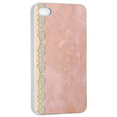 Guestbook Background Victorian Apple iPhone 4/4s Seamless Case (White)