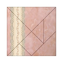 Guestbook Background Victorian Acrylic Tangram Puzzle (6  x 6 )