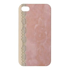 Guestbook Background Victorian Apple iPhone 4/4S Premium Hardshell Case