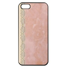Guestbook Background Victorian Apple iPhone 5 Seamless Case (Black)