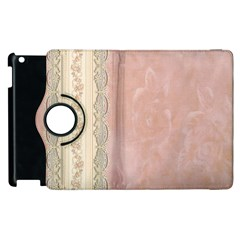 Guestbook Background Victorian Apple iPad 3/4 Flip 360 Case