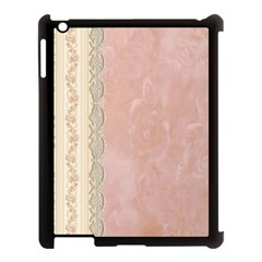 Guestbook Background Victorian Apple iPad 3/4 Case (Black)