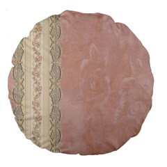 Guestbook Background Victorian Large 18  Premium Round Cushions