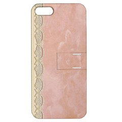 Guestbook Background Victorian Apple iPhone 5 Hardshell Case with Stand
