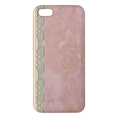 Guestbook Background Victorian Apple iPhone 5 Premium Hardshell Case