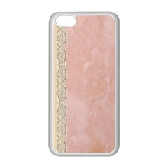 Guestbook Background Victorian Apple iPhone 5C Seamless Case (White)