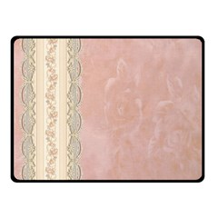 Guestbook Background Victorian Double Sided Fleece Blanket (Small)