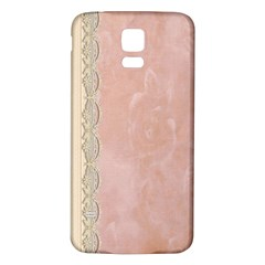 Guestbook Background Victorian Samsung Galaxy S5 Back Case (White)