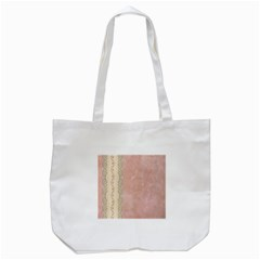Guestbook Background Victorian Tote Bag (White)