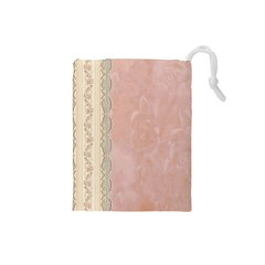Guestbook Background Victorian Drawstring Pouches (Small)