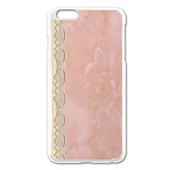 Guestbook Background Victorian Apple iPhone 6 Plus/6S Plus Enamel White Case