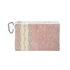Guestbook Background Victorian Canvas Cosmetic Bag (S)