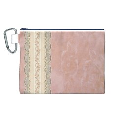 Guestbook Background Victorian Canvas Cosmetic Bag (L)