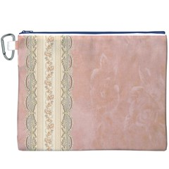 Guestbook Background Victorian Canvas Cosmetic Bag (XXXL)