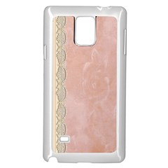 Guestbook Background Victorian Samsung Galaxy Note 4 Case (White)