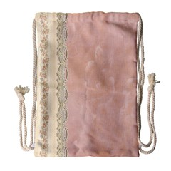 Guestbook Background Victorian Drawstring Bag (Large)
