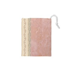 Guestbook Background Victorian Drawstring Pouches (XS)