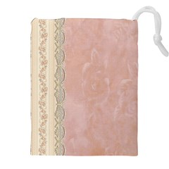 Guestbook Background Victorian Drawstring Pouches (XXL)