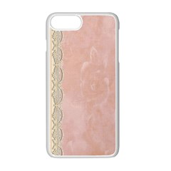 Guestbook Background Victorian Apple iPhone 7 Plus White Seamless Case