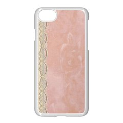 Guestbook Background Victorian Apple iPhone 7 Seamless Case (White)