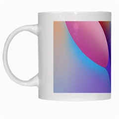 Color Orange Copy White Mugs