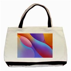 Color Orange Copy Basic Tote Bag (Two Sides)