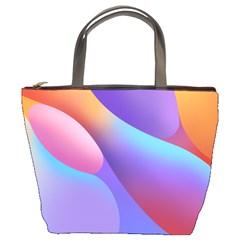 Color Orange Copy Bucket Bags