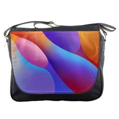 Color Orange Copy Messenger Bags