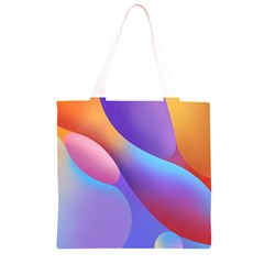 Color Orange Copy Grocery Light Tote Bag
